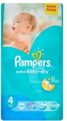 Pampers Active Baby-Dry 4 Maxi (7-14kg) 58db
