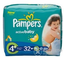Pampers Active Baby-Dry 4+ Maxi Plus (9-16kg) 32db