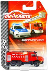 Majorette S.O.S. kisautók - Mercedes-Benz Zetros magyar tűzoltóautó