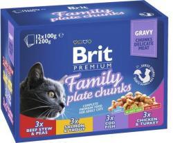 Brit Premium Cat Family Variety 4x12x100g