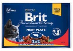 Brit Premium Cat Beef Multipack 4x100g