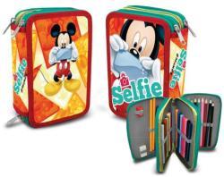 Disney Mickey 3 emeletes, töltött tolltartó