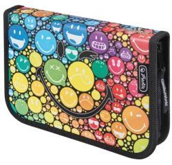 Herlitz SmileyWorld Rainbow töltött tolltartó, 19 részes