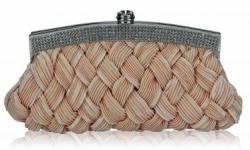 Fashion Only Alkalmi clutch táska Candy - bézs