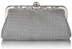 Fashion Only Alkalmi clutch táska Brenna - ezüst