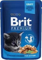 Brit Premium Kitten 24x100g