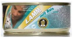 Leonardo Lamb Heart & Rice Tin 6x100g