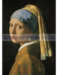 Clementoni Vermeer - Leány gyöngy fülbevalóval 1000 db-os (39282)