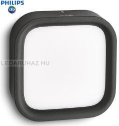 Massive - Philips Puddle kültéri fali lámpa, fekete 17269/30/16