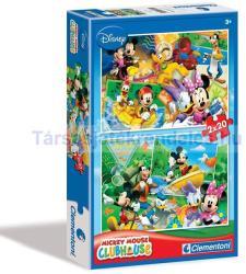 Clementoni Mickey egér kirándul 2x20 db-os (07006)