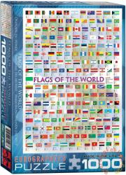 EUROGRAPHICS Flags of the World 1000 db-os (6000-0128)