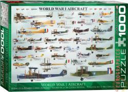 EUROGRAPHICS World War I Aircraft 1000 db-os (6000-0087)