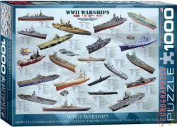 EUROGRAPHICS WWII Warships 1000 db-os (6000-0133)