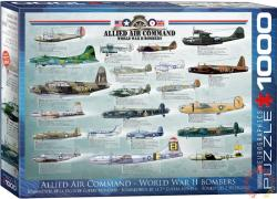 EUROGRAPHICS Allied Air Command 1000 db-os (6000-0378)