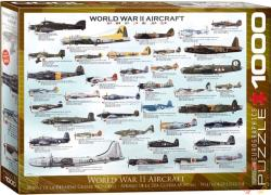 EUROGRAPHICS World War II Aircraft 1000 db-os (6000-0075)