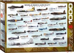 EUROGRAPHICS World War II Aircraft 1000 db-os (6000-0075)
