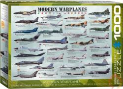 EUROGRAPHICS Modern Warplanes 1000 db-os (6000-0076)