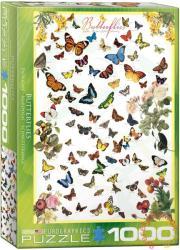 EUROGRAPHICS Butterflies 1000 db-os (6000-0077)