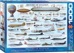 EUROGRAPHICS History of Aviation 1000 db-os (6000-0086)