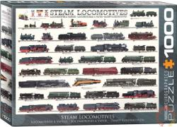EUROGRAPHICS Steam Locomotives 1000 db-os (6000-0090)