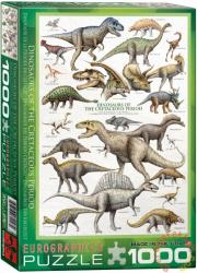 EUROGRAPHICS Dinosaurs of the Cretaceous 1000 db-os (6000-0098)