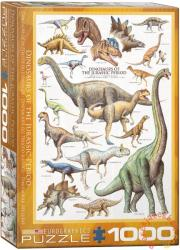 EUROGRAPHICS Dinosaurs of the Jurassic 1000 db-os (6000-0099)