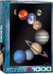 EUROGRAPHICS NASA - Solar System 1000 db-os (6000-0100)
