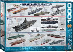 EUROGRAPHICS Aircraft Carrier Evolution 1000 db-os (6000-0129)
