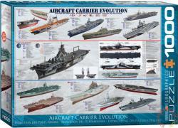 EUROGRAPHICS Aircraft Carrier Evolution 1000 db-os (6000-0129)