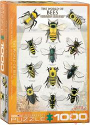 EUROGRAPHICS The World of Bees 1000 db-os (6000-0230)