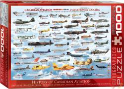 EUROGRAPHICS History of Canadian Aviation 1000 db-os (6000-0231)