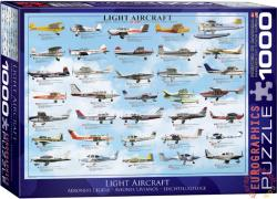 EUROGRAPHICS Light Aircraft 1000 db-os (6000-0238)