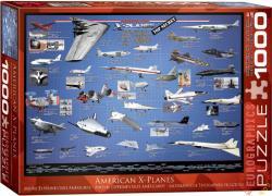 EUROGRAPHICS American X-Planes 1000 db-os (6000-0248)