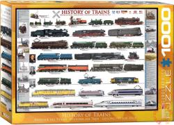 EUROGRAPHICS History of Trains 1000 db-os (6000-0251)