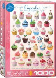 EUROGRAPHICS Cupcakes 1000 db-os (6000-0409)
