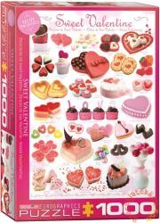 EUROGRAPHICS Sweet Valentine 1000 db-os (6000-0431)