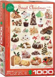 EUROGRAPHICS Sweet Christmas 1000 db-os (6000-0433)