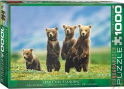 EUROGRAPHICS Bear Cubs Standing 1000 db-os (6000-0531)
