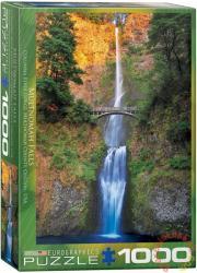 EUROGRAPHICS Multnomah, Falls Oregon 1000 db-os (6000-0546)