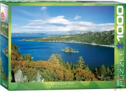 EUROGRAPHICS Emerald Bay, California 1000 db-os (6000-0549)