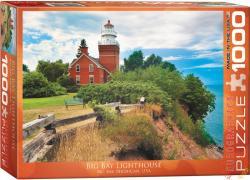 EUROGRAPHICS Big Bay Lighthouse, Michigan 1000 db-os (6000-0551)