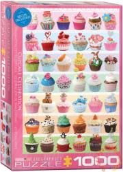 EUROGRAPHICS Cupcake Celebration 1000 db-os (6000-0586)