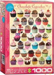 EUROGRAPHICS Chocolate Cupcakes 1000 db-os (6000-0587)