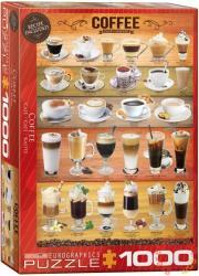 EUROGRAPHICS Coffee 1000 db-os (6000-0589)