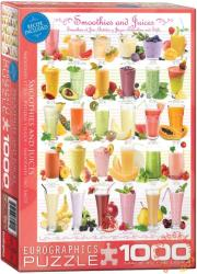 EUROGRAPHICS Smoothies and Juices 1000 db-os (6000-0591)