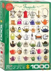 EUROGRAPHICS Teapots 1000 db-os (6000-0599)