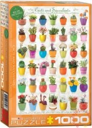 EUROGRAPHICS Cacti and Succulents 1000 db-os (6000-0654)