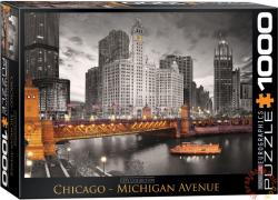 EUROGRAPHICS Chicago, Michigan Avenue 1000 db-os (6000-0658)