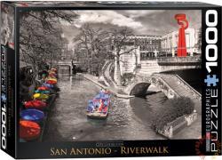 EUROGRAPHICS San Antonio, Riverwalk 1000 db-os (6000-0664)