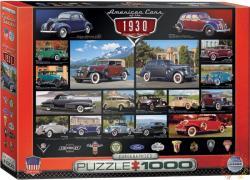 EUROGRAPHICS A 30-as évek amerikai autói 1000 db-os (6000-0674)